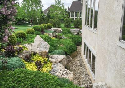 Boulder Landscape Installation