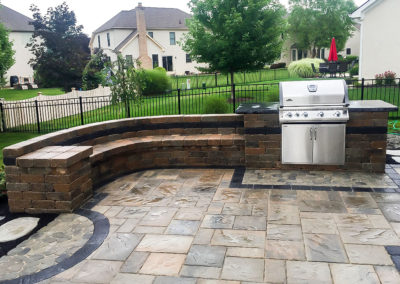 Built In Patio Grill