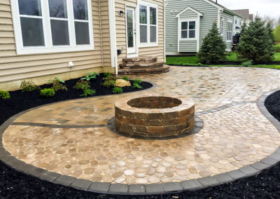Custom Patio Fire Pit